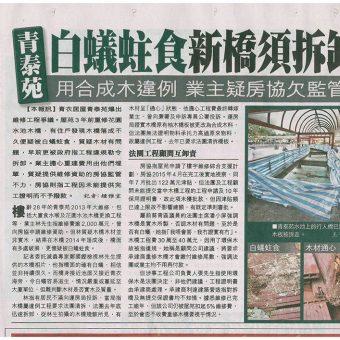 20170201白蟻相關新聞(蘋果日報A10)